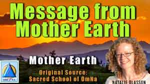Message from Mother Earth