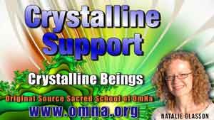 Crystalline Support by the Crystalline Kingdom
