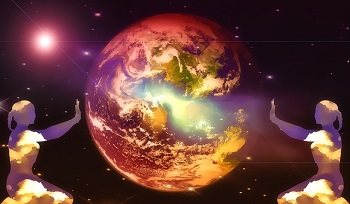 Manifesting a Planet of Love - Mother Earth's and Your Love Embodiment Initiations