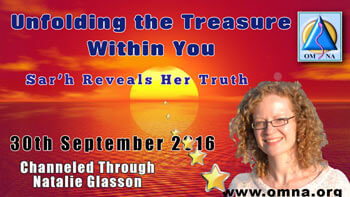 Sar'h Reveals Her Truth by Sar'h (Daughter of Jesus and Mary Magdalene)