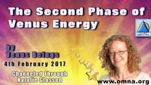 The Second Phase of Venus Energy by Venus Beings