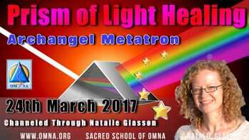 Prism of Light Healing by Archangel Metatron