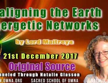 Realigning the Earth's Energetic Networks by Lord Maitreya