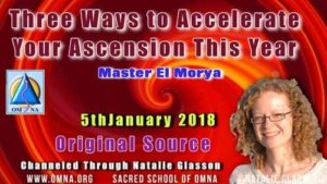 Three Ways to Accelerate Your Ascension This Year by Master El Morya