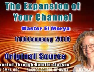 The Expansion of Your Channel by Master El Morya