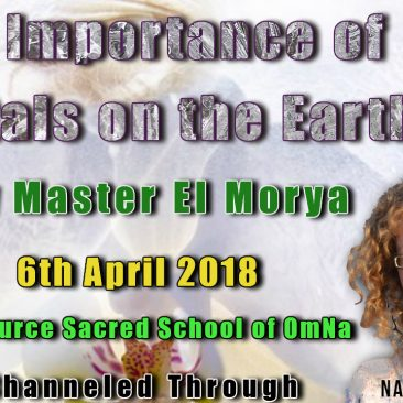 13th April 2018 The Importance of Crystals on the Earth by Master El Morya