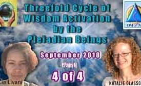 Threefold Cycle of Wisdom Activation by the Pleiadian Beings