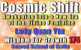 Cosmic Shift Lady Quan Yin