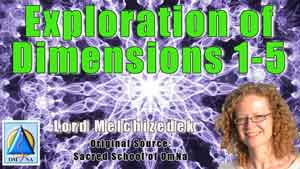 Exploration by Lord Melchizedek regarding the dimensions of the Creator's Universe as a source of healing, self-awakening, inspiration and enlightenment.
